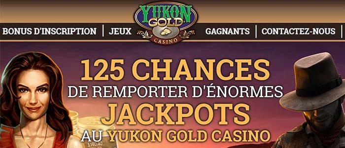 Yukon Gold Casino – Gros Gagnant au Mega Moolah