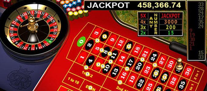 Jackpot progressif à la roulette en ligne